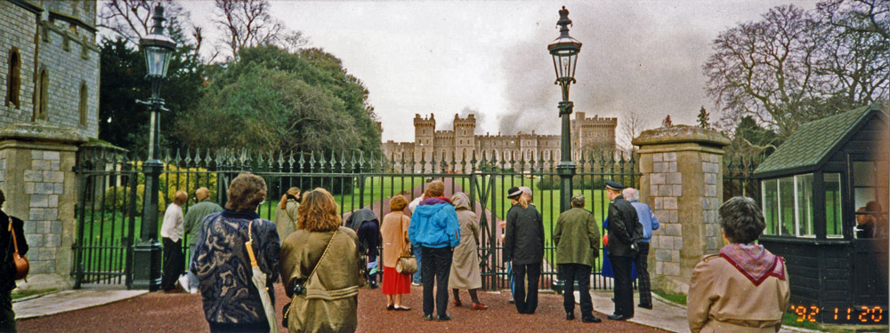 The Fire at Windsor Castle 1992 - The Royal Windsor Forum