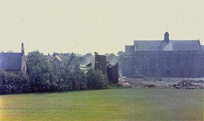 Demolition of the Macaskie Block