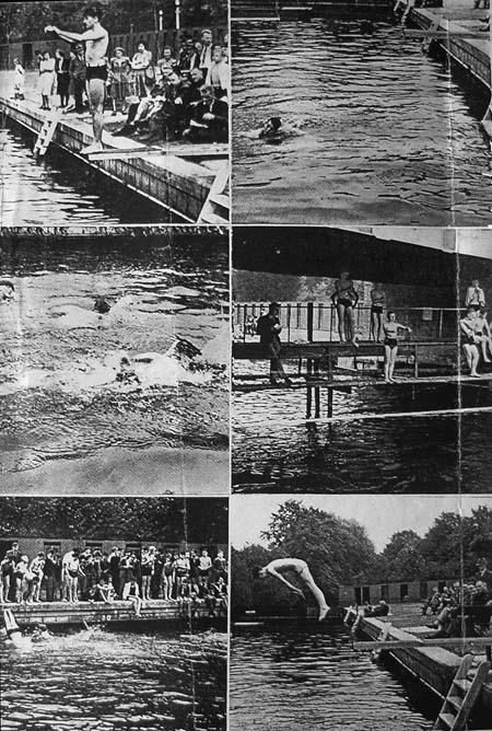 Baths Island 1945