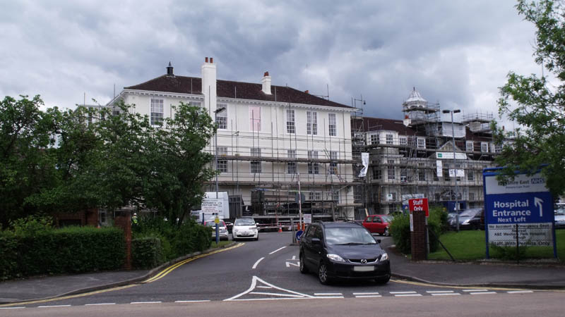 Currently June 2012 The Edward VII Hospital Is Undergoing A Jubilee Facelift As Are Number Of Other Buildings In Windsor At Top Town