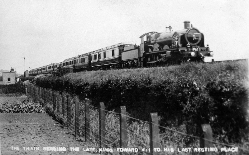 Funeral Train on Windsor Branch line